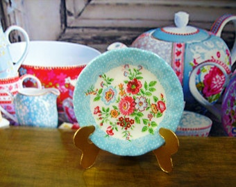 Greengate Style  Miniature Plate 1:12 scale