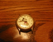 Vintage Lorus Mickey Mouse Watch Face v515-6000 water resistant