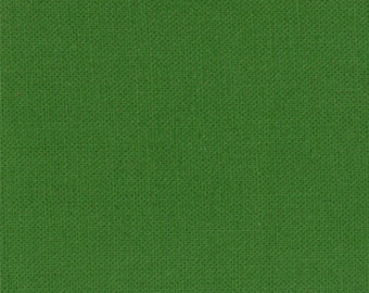 Bella Solids, Evergreen, by Moda Fabrics, Yardage, 9900234
