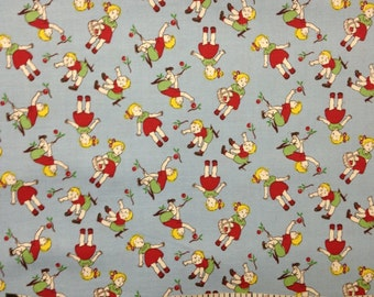 1 yard 100% cotton fabric by Windham Fabrics in Storybook pattern