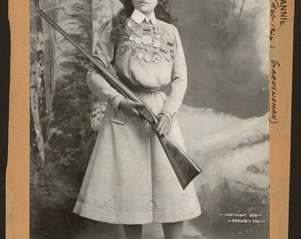 Annie Oakley -Photo Print