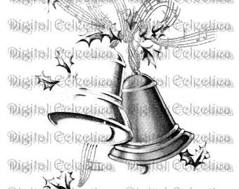 Christmas Bells Image. Christmas PNG. Jingle Bells PNG. Christmas Bells Print. Christmas Bells Clipart. Christmas Bells Art. No. 0125