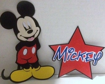 Mickey and Mickey Star Die Cuts