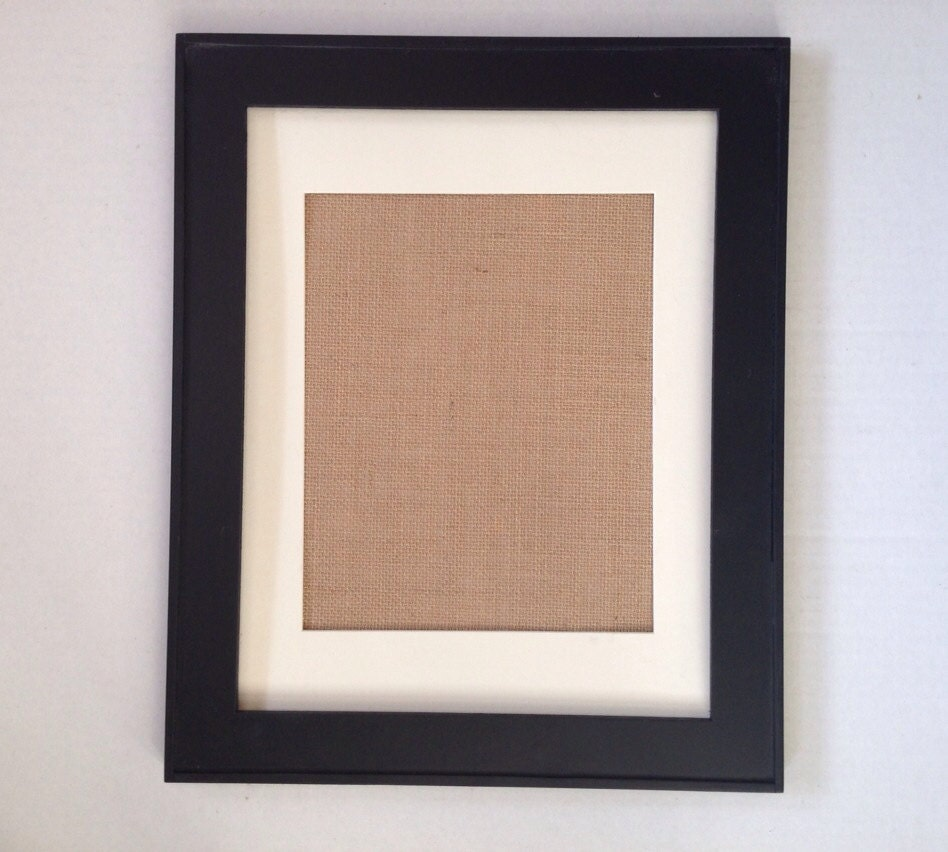Frame And Mat For Any Of Our Purchased Burlap Prints