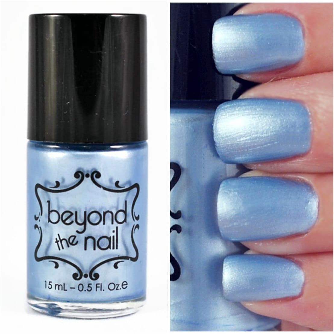 Pearl Nail Polish: Baby Blue Pearl Nail Polish