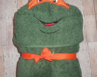 TMNT Hooded Towels