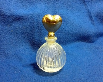 A Crystal Perfume Bottle