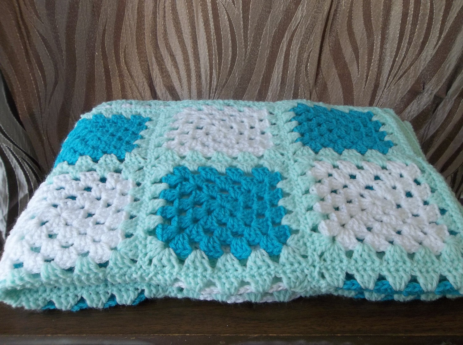 Bobblewrap handmade crochet baby blanket handmade crochet baby blanket by willknit4beer on etsy - Handmade gs silverware ...