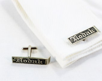 Vintage Kodak Folding Camera Footrest Cuff Links
