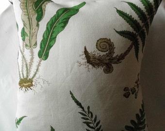 G P & J Baker Cushion Covers in Ferns