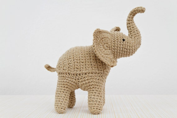 Uncinetto Amigurumi Elefante : Crochet Pattern di elefante elefante Amigurumi Pattern