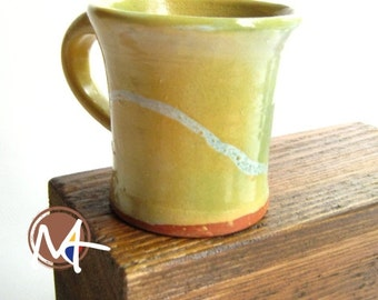 Bright Yellow Cup