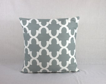 Gray Sofa Pillow - Decorative Pillows for Couch - Pillow Covers 0006