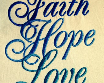 GG1274 Faith Hope Love