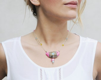 necklace driftwood Ethno polaris Beads JEVO