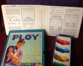 Vintage Board Game - PLOY - 1970