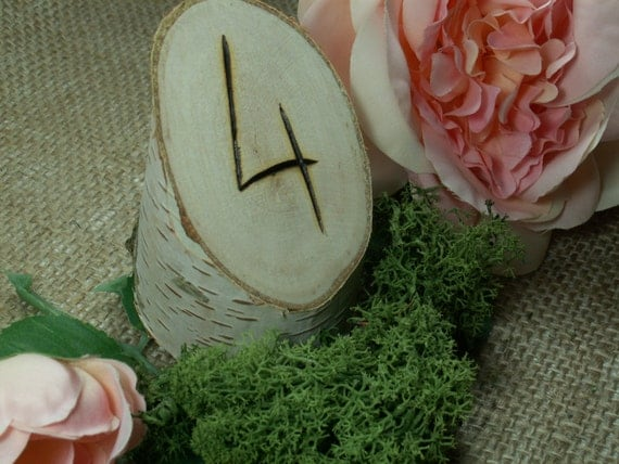 12 birch bark white rustic table number wedding table for 12 days of christmas table numbers