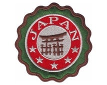 JAPAN (B) Embroidered Sew On Patch