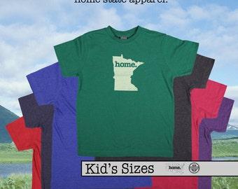 Minnesota home tshirt KIDS sizes The Original home tshirt