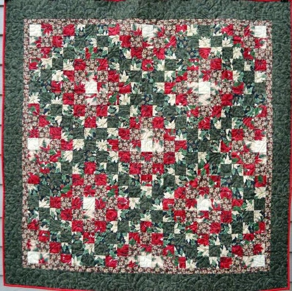 Quilted christmas wall hanging by raincityquilts on etsy