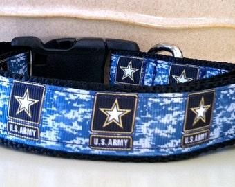 Dog Collar- ARMY