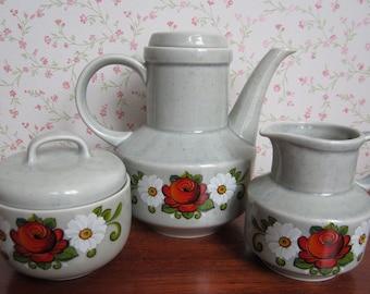 reserved vintage zell am harmersbach havanna teapot coffeepot. Black Bedroom Furniture Sets. Home Design Ideas