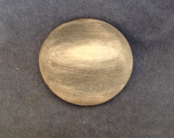 "Large Decorative Button. Horn button. Size 1 1/2"" (38mm) 1 piece"