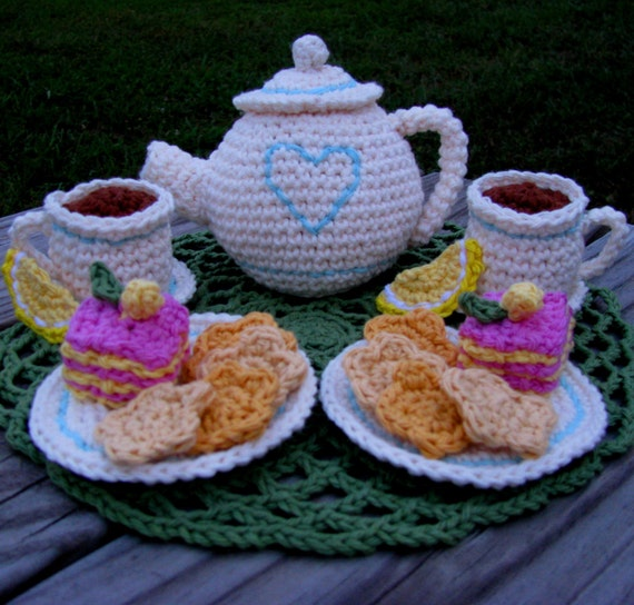 Quick Amigurumi Crochet Patterns : Amigurumi Crochet Pattern Quick and Easy Tea Party