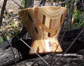 Laminated Wood Bowl #2