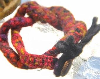 SALE!!Felt Cuff Bracelet