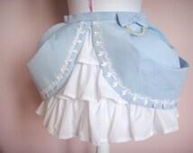 Cupcake Skirt in Sky Blue fairy kei lolita style