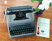 Smith Corona Typewriter - Working Typewriter - Smith Corona Silent Portable Typewriter