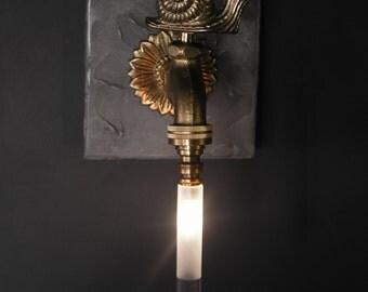 """Handmade Wall Light """"Aqua"""""""
