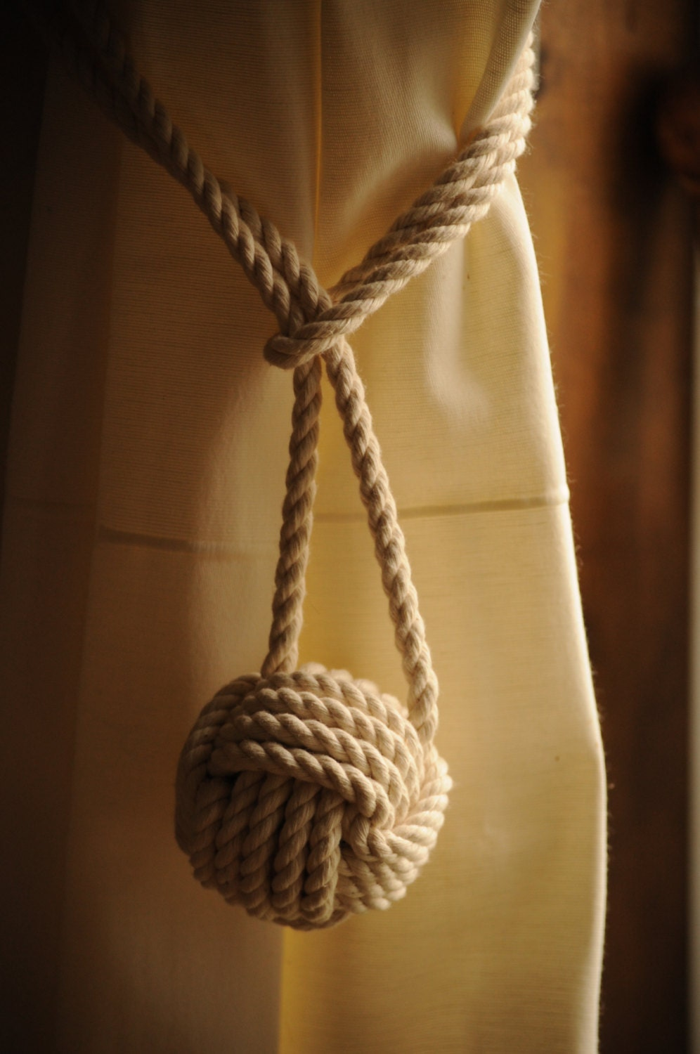 Four Different Types Of Rope Tiebacks Nautical Gift