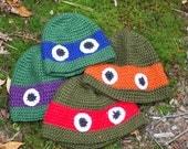Crochet Eye Hats