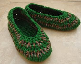 Crochet Slippers Womens