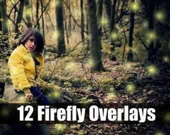 Firefly Light Overlay Photoshop