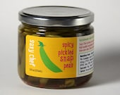 Spicy Pickled Snap Peas