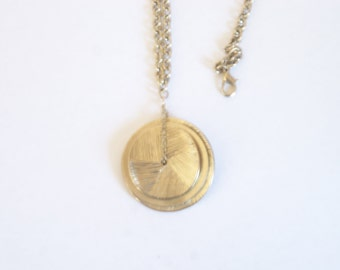 Bronze Circle Necklace