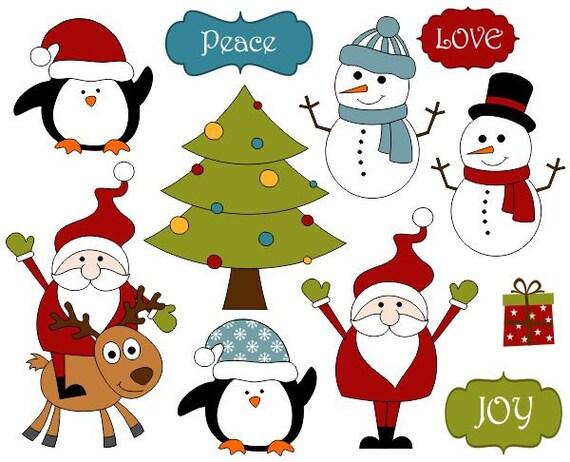 cute christmas decoration clip art xmas scrapbook clipart. Black Bedroom Furniture Sets. Home Design Ideas