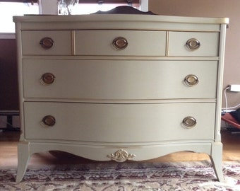 Gold Accented Dresser- Similar available for order