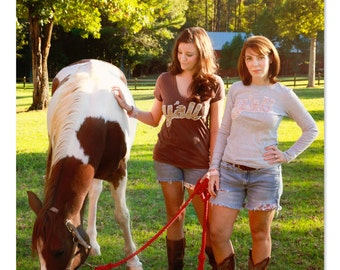 Hey Y'all! Custom Women's Tee Dirt Road Couture™