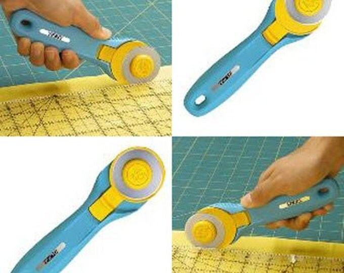 OLFA SPLASH 45mm Rotary Cutter - Precision with Pizzazz - RTY-2/C - Quilters Cutting Tool (w1444)