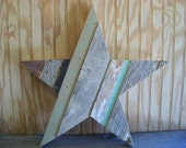 barn wood star