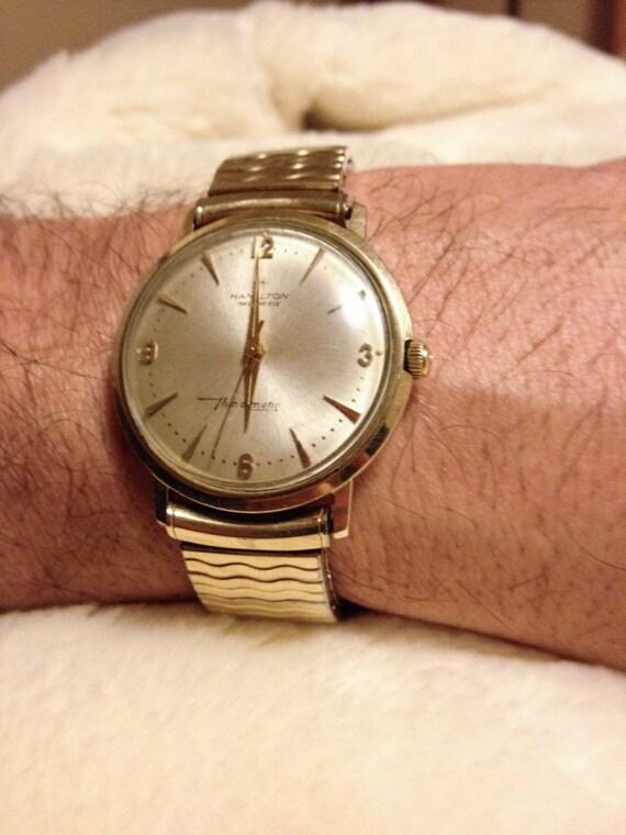 Hamilton Watch Co Men S Masterpiece Thin O Matic 1966