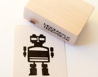 Handmade Stamp Robot
