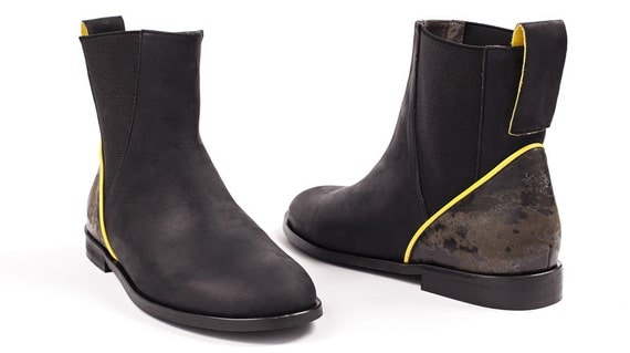 clearance black ankle boots for womens black leather