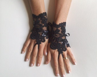 Items similar to convertible steampunk skirt with for Lace glove tattoo