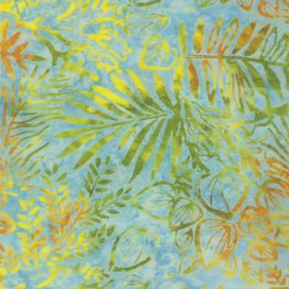 Light Blue Batik Fabric Sun Drenched Sky 4326 11 Moda Batiks