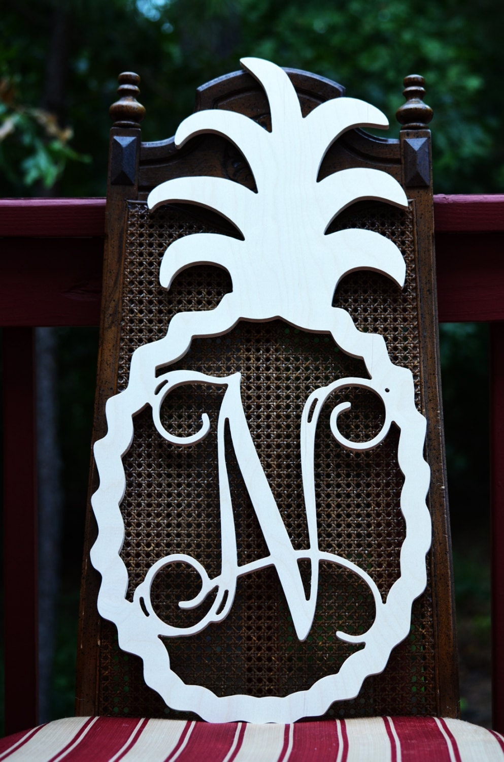 Decorative Door Hangers Wooden Pineapple Etsy